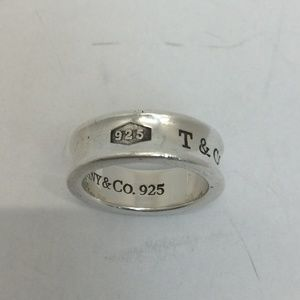 Tiffany & Co. Silver Band Ring